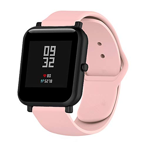MLQSS Quick Release Soft Silicone Watch Bands for Samsung Gear S3,18mm 20mm 22mm Universal Adjustable Sport Strap for Amazfit/Pebble/Fossil Q/Huawei Women Men SmartWatch